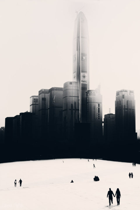 PEOPLE AND MODERN ARCHITECTURE IN CHINA
